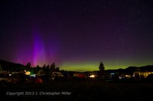 Aurora Borealis in Plain Wa June 2013